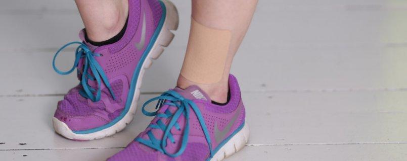 TEPI patch ankle